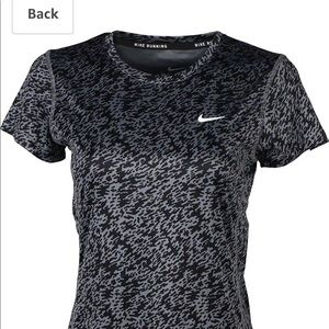 Nike Dri Fit Millar Stay Cool Running Shirt